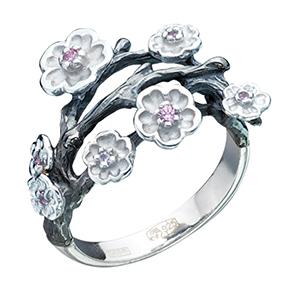 Серебряное кольцо К-15042