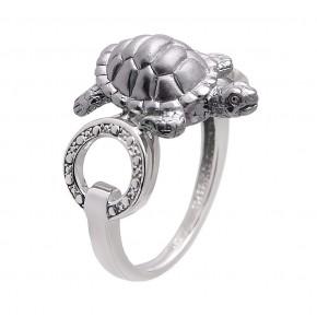 Серебряное кольцо К-25037