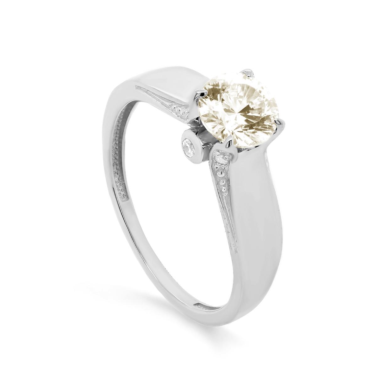 Кольцо из белого золота 1-1541-20600