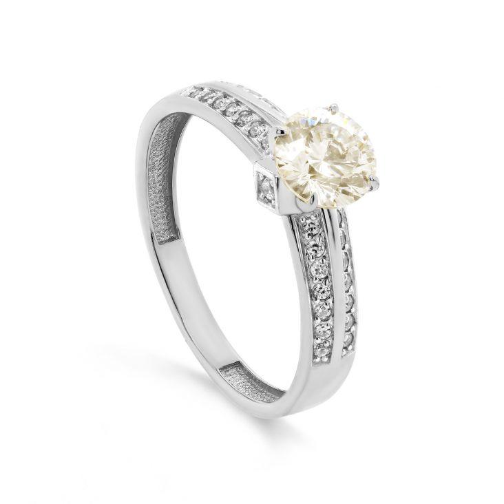 Кольцо из белого золота 1-1542-20600