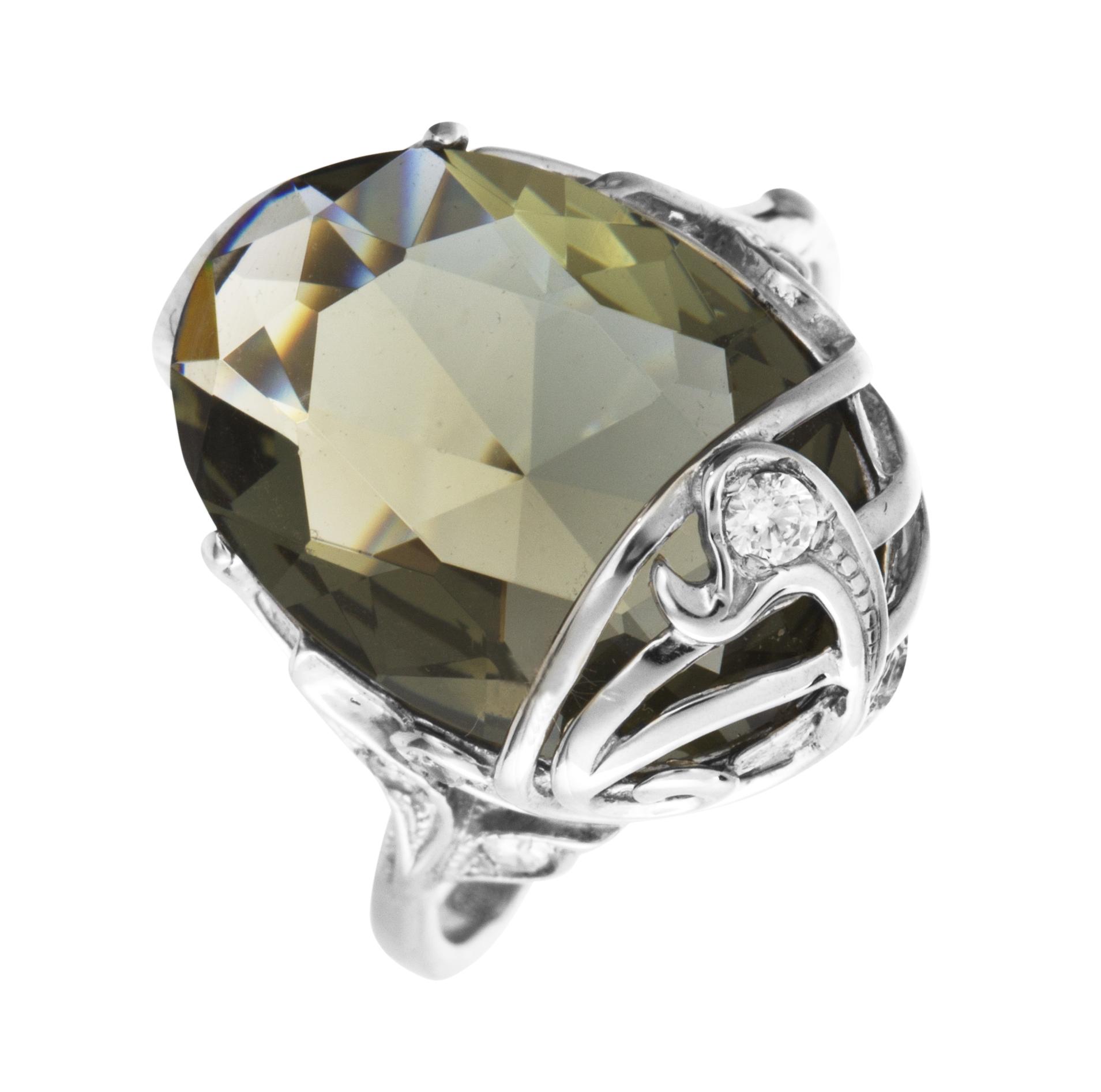 Серебряное кольцо 4к-80515-04