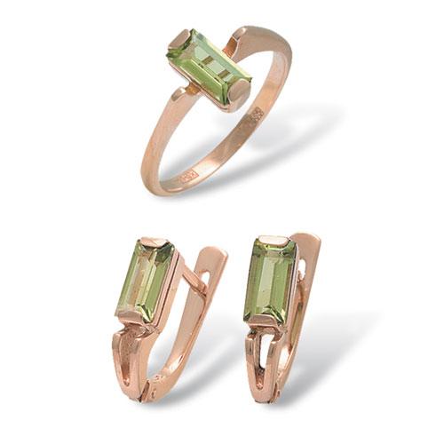 Серебряное кольцо 4к-295-04