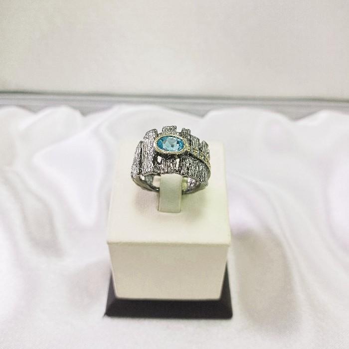 Серебряное кольцо 01071