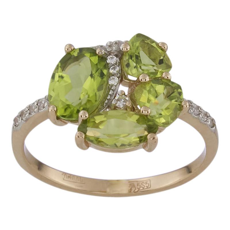 Золотое кольцо 011492хкц