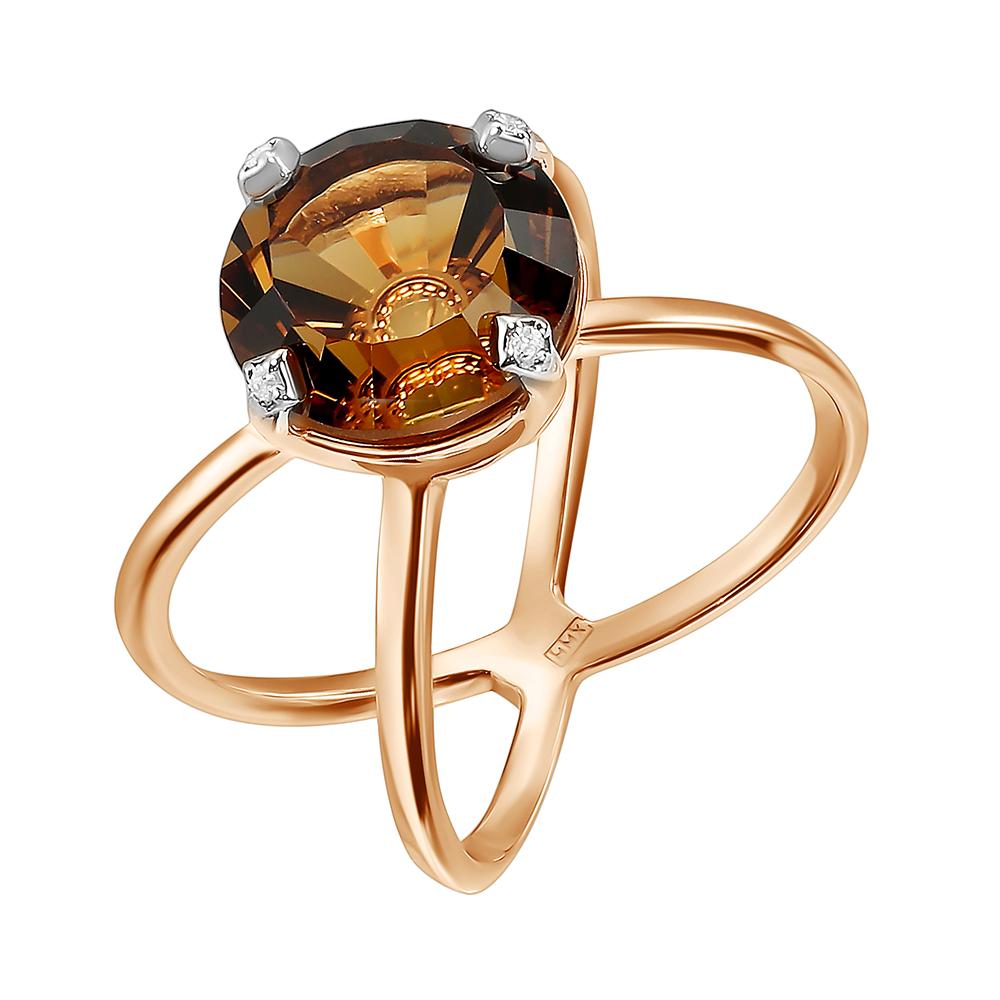 Золотое кольцо 012035ркцб