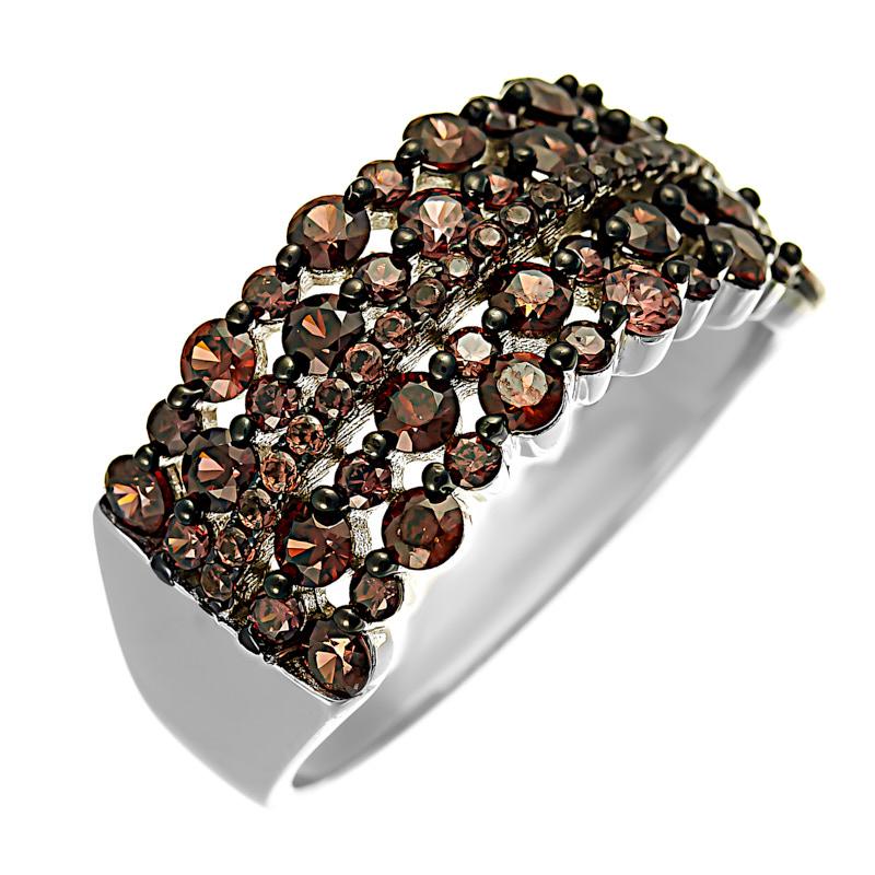 Серебряное кольцо CZ-R00640XWBXXDB
