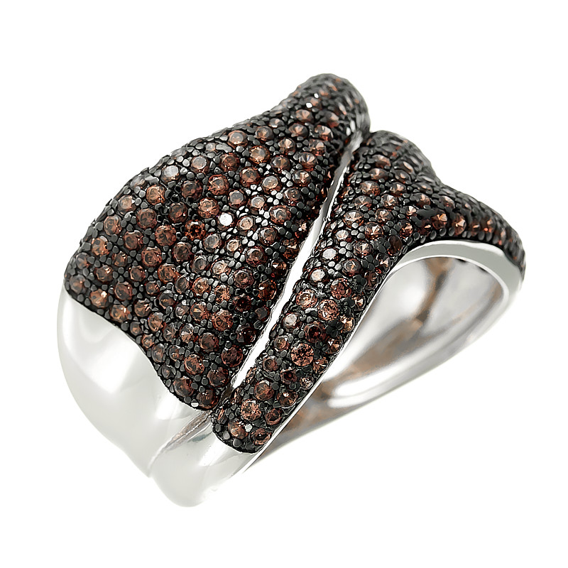 Серебряное кольцо MP-R01213XWBXXDB