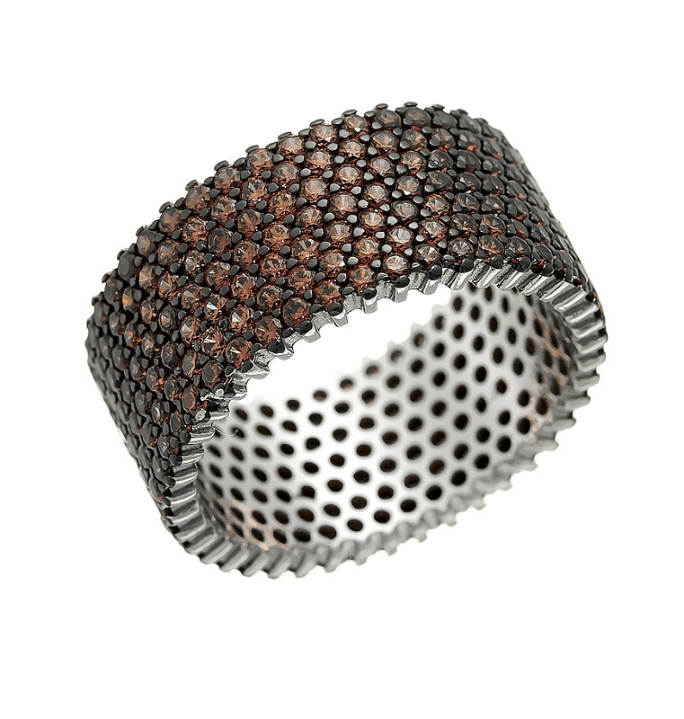 Серебряное кольцо SL-R01317XWBXXDB
