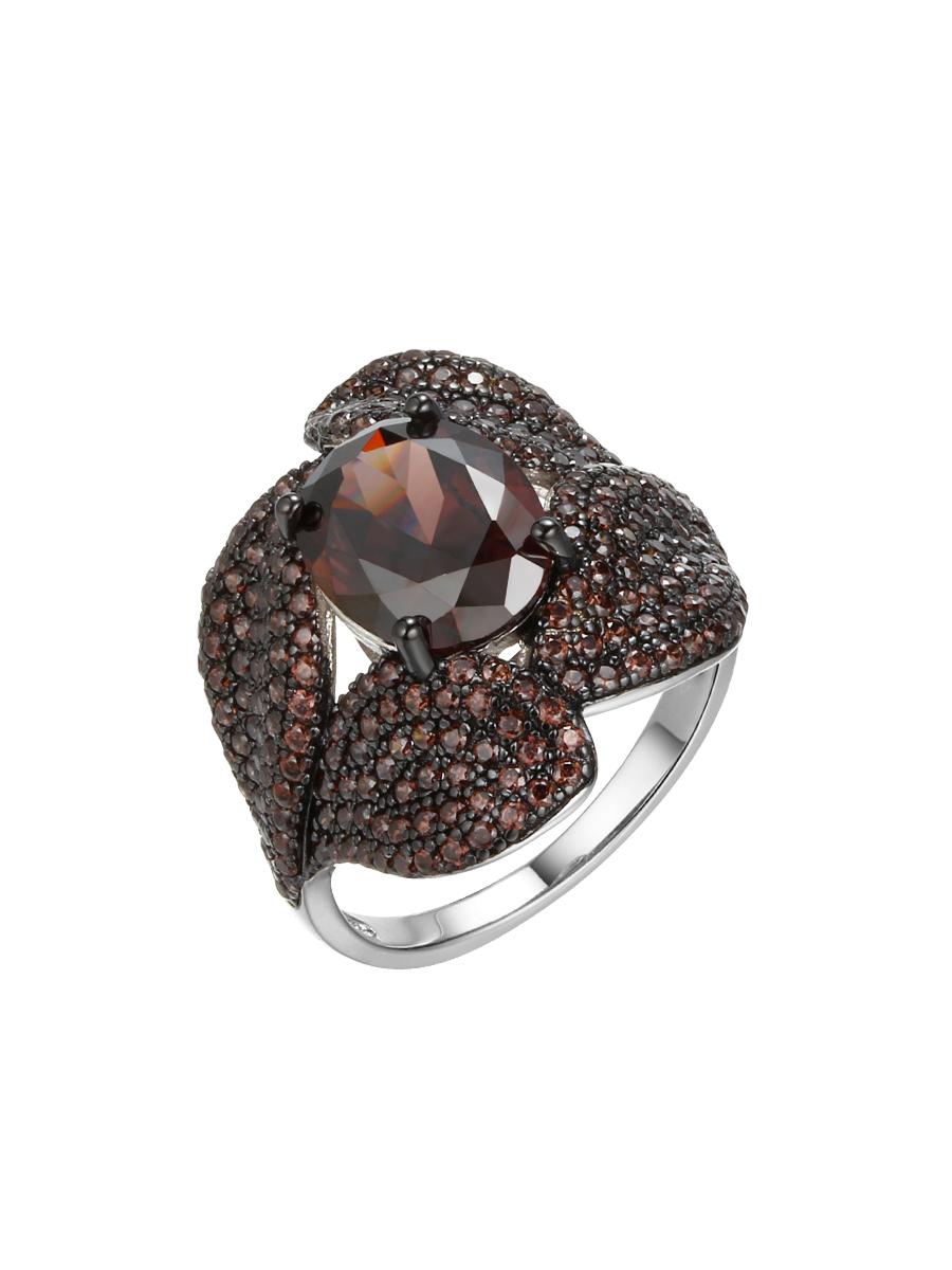 Серебряное кольцо CZ-R18042XWBBRXBR
