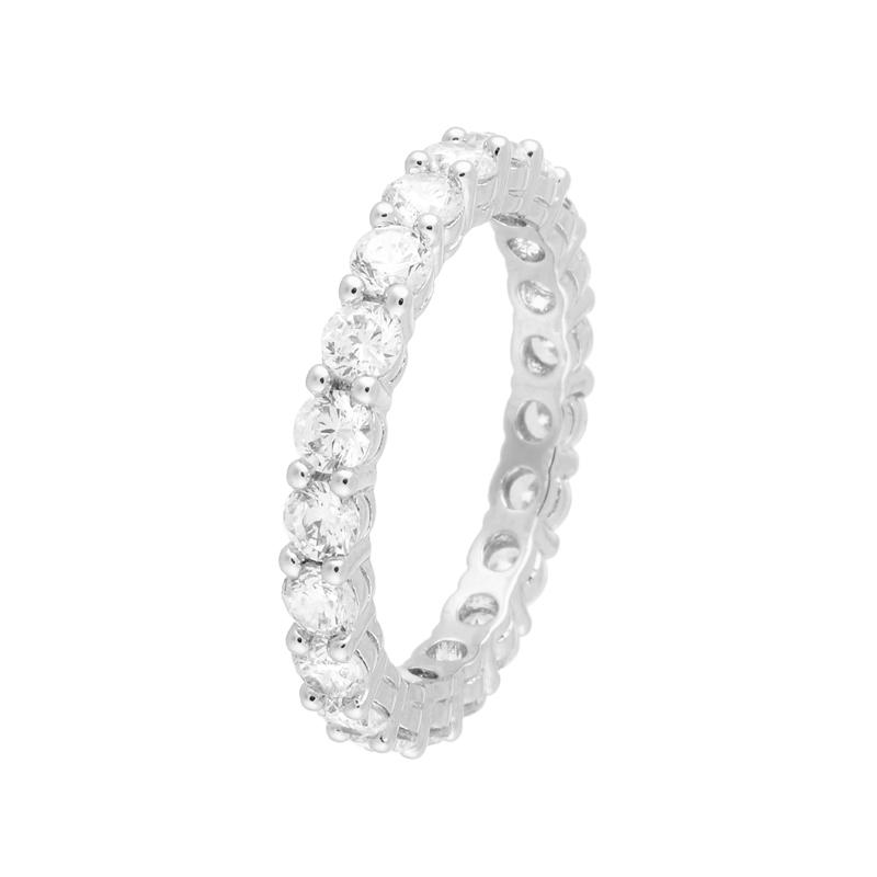 Серебряное кольцо CZ-R00684XWXXW