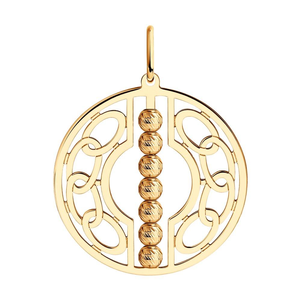 Золотой подвес арт. 51-130-01298-1 51-130-01298-1