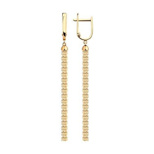 Золотые серьги 51-121-00358-1