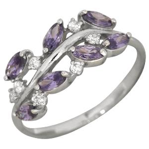 Серебряное кольцо 90-01-3021-06