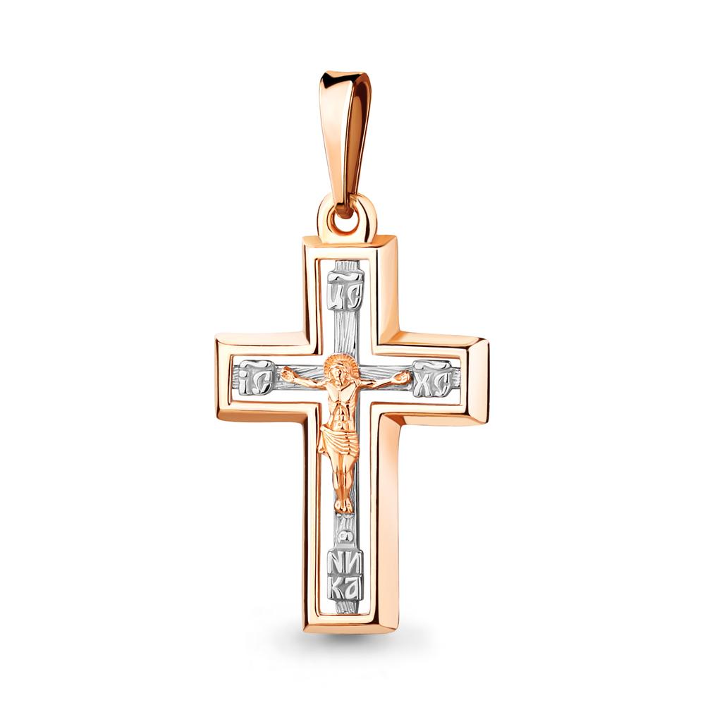 Золотой крест арт. 12193.1 12193.1