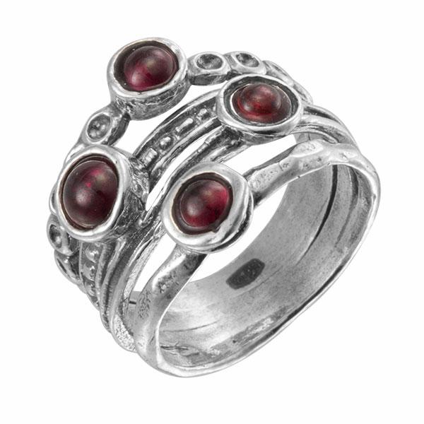 Серебряное кольцо 01r862gr
