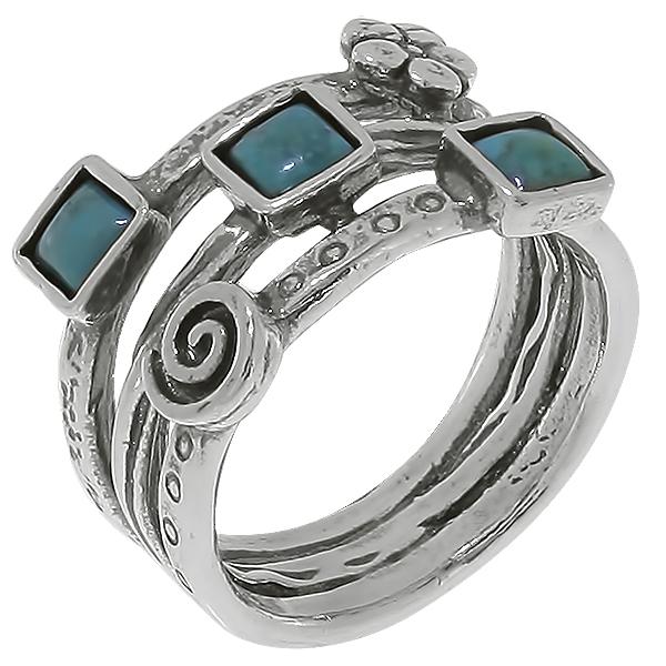 Серебряное кольцо 01r610tq
