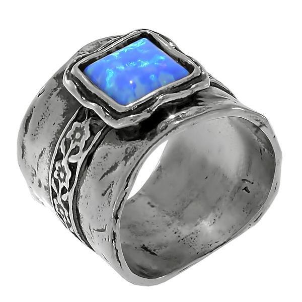 Серебряное кольцо 01r438op