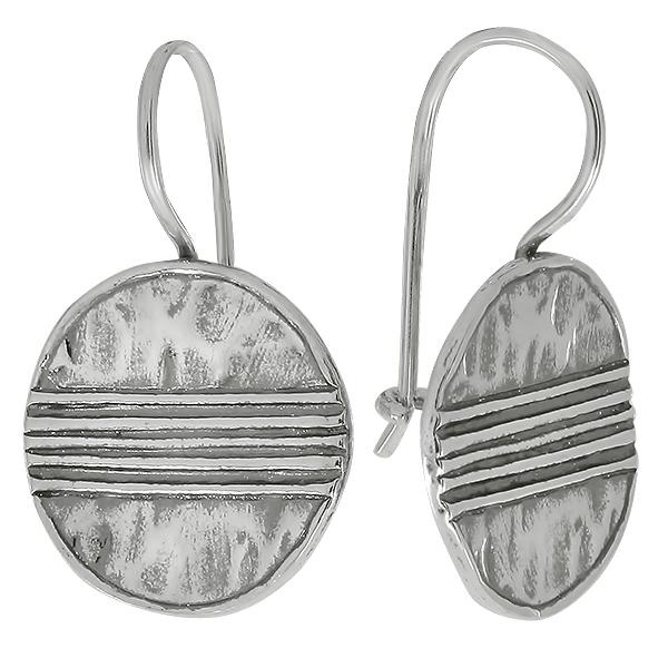 Серебряные серьги 01e541/1
