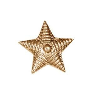 Звезда на погоны из золота арт. 74521 74521