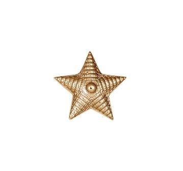 Звезда на погоны из золота арт. 74522 74522